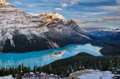 Sunrise at Peyto by Trevor Cole on 500px