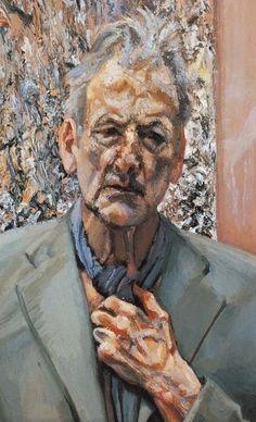 "Lucian Freud: ""Self-Portrait: Reflection,"" 2002."