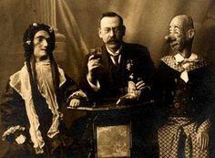 Vintage ventriloquism portraits were incredibly unnerving