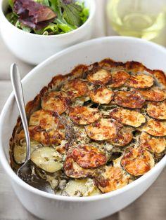 Gratin de courgettes au jambon : Recette de Gratin de courgettes au jambon - Marmiton