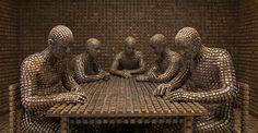 Family / Origin of the Beginning 2012  by Levi van Veluw. Sculpture.