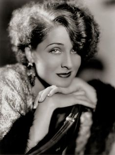 "Norma Shearer.. born in 1902 in Montreal, Quebec; known as the ""The First Lady of MGM"".  She had a cross-eyed stare and spent lots of money trying to have it corrected. Norma won an Oscar in 1930 for the film, ""The Divorcee"". She married twice and retired in 1942.  She died of pneumonia in 1983."