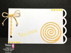 DT Helen @ Twine It Up! by Annie's Paper Boutique: Memory Keeping (Tag) with Trendy Twine using the New Documenting the Everyday #2 stamp set along with the Lemon Tart Trendy Twine.