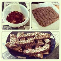 Välipalaproteiinipatukat French Toast, Snacks, Breakfast, Food, Morning Coffee, Appetizers, Essen, Meals, Yemek
