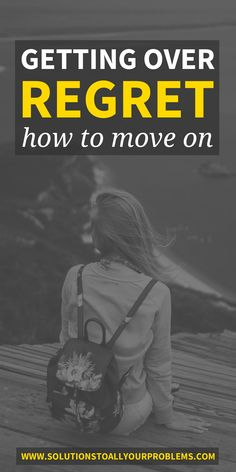 Do you have regrets and mistakes in your past you have a hard time dealing with? This is my story of getting over regret + how to move on from the past in three steps.