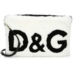 Dolce & Gabbana Fur Clutch Bag ($2,675) ❤ liked on Polyvore featuring bags, handbags, clutches, dolce gabbana handbags, white clutches, handbag purse, fur handbags and white hand bags