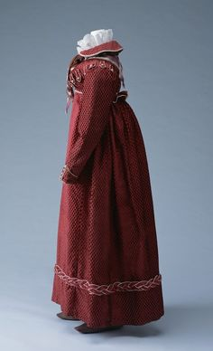 One of my favourite military-inspired pieces: Spencer, Underbodice and Skirt | KCI | c. 1815
