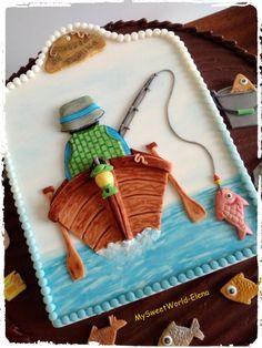 Hooked on Fishing  - cake by My Sweet World (Elena)