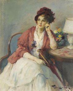 """""""Elegance"""" Fernand Toussaint."""