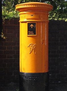 orange v1 postbox