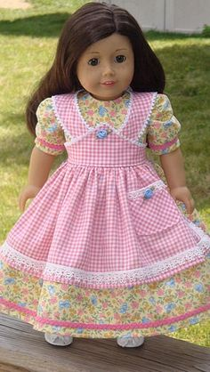 American Girl Doll Clothes  Mid 1800's by AngelKissesBoutique, $54.99
