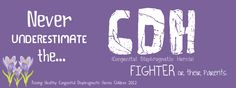 Never underestimate the CDH fighter or their parent.