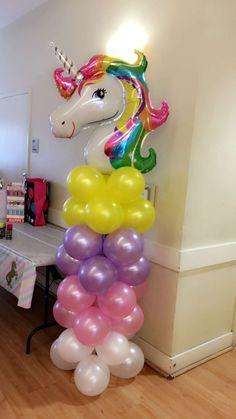 Geburtstag DIY DIY unicorn baby shower ideas - unicorn dreams - # unicorn baby shower ideas # u Diy Unicorn Birthday Party, Rainbow Unicorn Party, Birthday Party Decorations, Unicorn Balloon, Baby Birthday, Birthday Ideas, Unicorn Baby Shower, Shower Ideas, Rainbow Photo