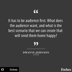 #repost @forbes  It's all about the consumer.  #quote #forbes #dwaynejohnson #epics #monday #newweek #newchallenges #costumer #needs #marketing #creativity #inspiration #cabinafoto