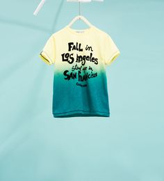 Ombré text T-shirt-BOY | 4-14 years-NEW IN | ZARA Hungary