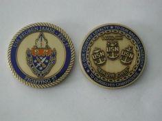 USS REUBEN JAMES FFG 57 CHIEF PETTY OFFICER CPO CHALLENGE COIN