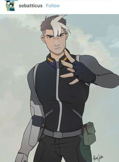 OH MY GOD I THOUGHT THIS WAS ACTUAL SHIRO BIT EDITED HIS PERFECT JAWLINE. THIS IS SO DAMN GOOD.