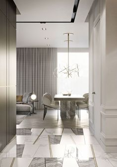 Helpful Strategies For modern home design interior Contemporary Interior Design, Decor Interior Design, Interior Decorating, Modern Classic Interior, Modern Contemporary, Luxury Home Decor, Luxury Interior, Floor Design, House Design