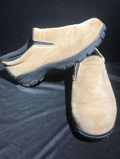 2009bcf7c02df Men s beige suede leather RED HEAD SLIP-ON loafers shoes size 11 M  fashion   clothing  shoes  accessories  mensshoes  casualshoes (ebay link)