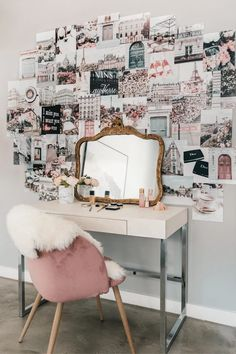 dorm room ideas aesthetic collage kits paris