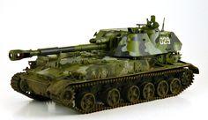 2S3 Akatsiya 152.4 mm Self-Propelled Howitzer (Russia)