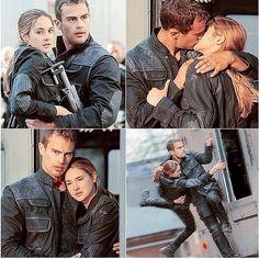 Tris and Tobias , Divergent. I ship it soooooo hard!!!!