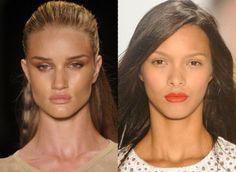 Confira o que rolou de maquiagem no SPFW verão 2013.