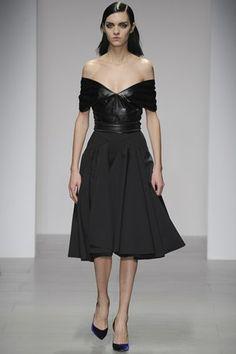 Emilio de la Morena - Autumn/Winter 2014-15 Ready-To-Wear - LFW (Vogue.com UK)