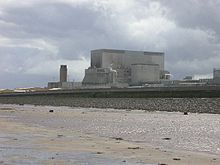 Hinkley Point B is a nuclear power station near Bridgwater, Somerset, on the Bristol Channel coast of south west England.