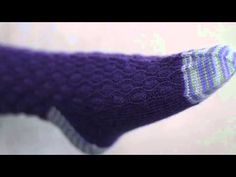 How To: Knit Original Cuff-Down Socks with Donna Druchunas on Craftsy.com. Click: http://www.craftsy.com/ext/Pinterest_46v1