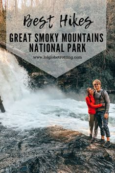 Here is our hike guide to the best hikes in the Great Smoky Mountains National Park on the border of Tennessee and North Carolina, USA. The Smoky Mountains is a beautiful National Park with mountainous landscapes making for some of the best hiking we've ever done. Plan your next hiking trip, getaway or vacation to the Great Smoky Mountains and prepare yourself for an adventure. #greatsmokymountains #nationalpark #usa #travel #trip #vacation #tennessee #northcarolina #mountains #hike #hiking