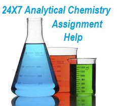 Looking for analytical chemistry assignment help? Send requirements at support@askassignmenthelp.com to get high quality analytical chemistry homework help solutions