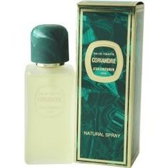 Coriandre Perfume by Jean Couturier for Women. Eau De Toilette Spray 3.3 oz / 100 Ml by Jean Couturier. $17.37. Packaging for this product may vary from that shown in the image above. Eau De Toilette Spray 3.3 Oz / 100 Ml for Women. All our fragrances are 100% originals by their original designers. We do not sell any knockoffs or immitations.. We offer many great sales and discounts making this fragrance cheaper than at department stores.. Coriandre Perfume fo...