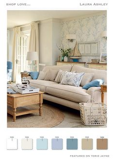 Laura Ashley Coastal Colors Autumn Winter 2015