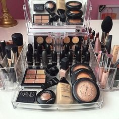 makeup, mac, and nars image