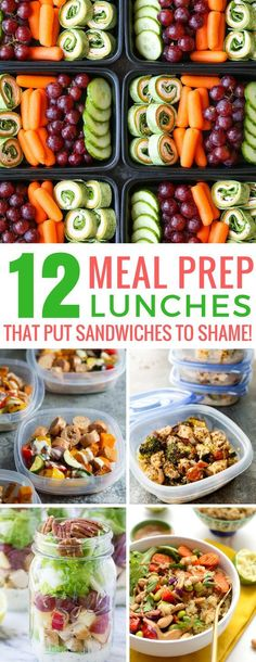 Loving these meal prep lunches - we'll not get bored eating these recipes! Thanks for sharing!