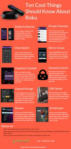 Ten Cool Things Should Know About Roku #Infographics