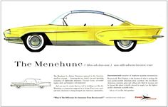 1950's Kaiser ad for an aluminum body car that never made it to production. #vintageads #Ads #vintage #PrintAd #tvads #advertising #BrandScience #influence #online #Facebook #submissions #marketing #advertising