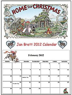 Jan Brett's site. So many printables! Flashcards and all kinds of activities, coloring pages, etc.
