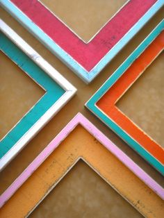 Colorful frames.
