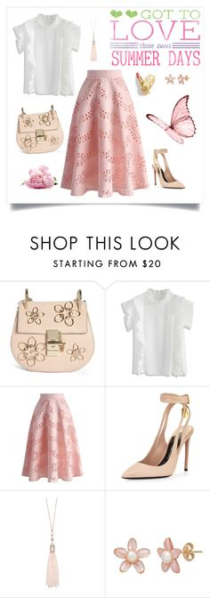"""Got to love sweet summer days!"" by chicwish ❤ liked on Polyvore featuring Chloé, Chicwish, Tom Ford and Oasis"