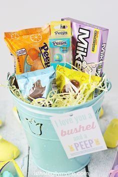 20 alternatives to traditional easter baskets a peeps giveaway 20 alternatives to traditional easter baskets a peeps giveaway easter pinterest easter baskets easter and easter traditions negle Image collections