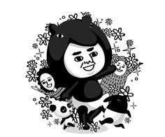 虛擬人偶突破 200 萬,LINE PLAY 推「馬來貘」黑白房間 - http://chinese.vr-zone.com/137880/line-play-avatar-over-2-million-brought-cherng-black-and-white-style-12182014/