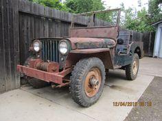 Willys: Jeep CJ2A Jeep 1946 Car model jeep willys cj 2 a
