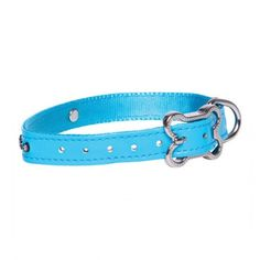 Rogz Lapz Luna Dog collar Blue - Medium