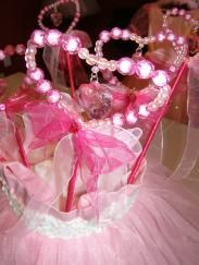 Pretty in Pink Princess Birthday Party Supplies and Dresses from My Princess Party to Go #pink #princess #party