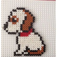 Puppy dog perro template, diseño, molde, plantilla, abalorios, calor, hamma, hama, perler, beads,  patterns, patron, diy, hecho en casa, hazlo tu mismo, niños, manualidad, crafts, actividad, vacaciones, muristar.com, animado, animate, tutorial,