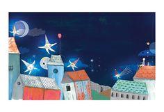 La pêche au clair de lune | Art Print | Josée Bisaillon – Sur ton mur