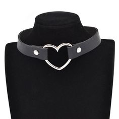 Lychee Gothic Punk Style Multi Color Alloy Heart Pendant PU Leather Choker Necklace Collar 90s Grunge Heart Choker //Price: $7.95 & FREE Shipping // Get it here ---> https://bestofnecklace.com/lychee-gothic-punk-style-multi-color-alloy-heart-pendant-pu-leather-choker-necklace-collar-90s-grunge-heart-choker/    #Wedding_jewellery