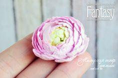 """FANTASY: Как мы это делаем: """"Загадочный цветок ранункулюса"""""""